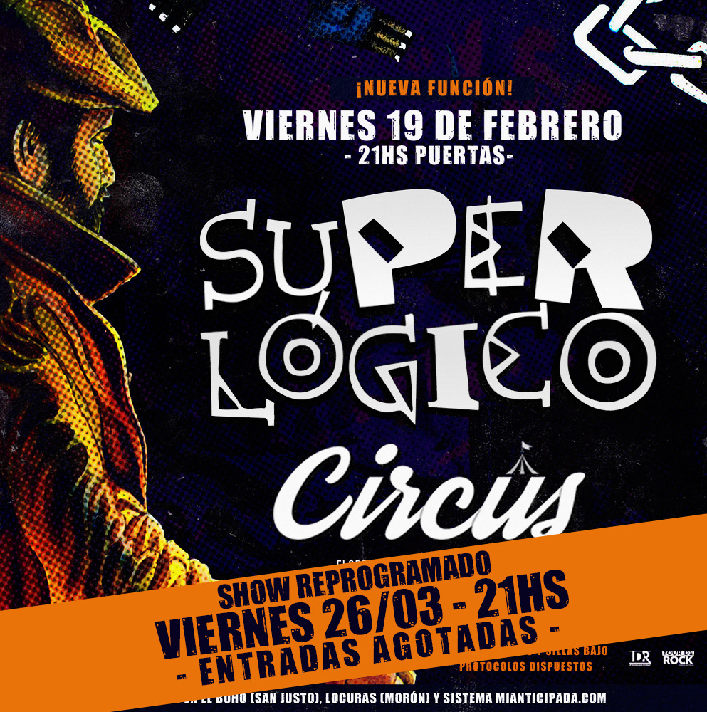 SUPERLOGICO en Circus Bar