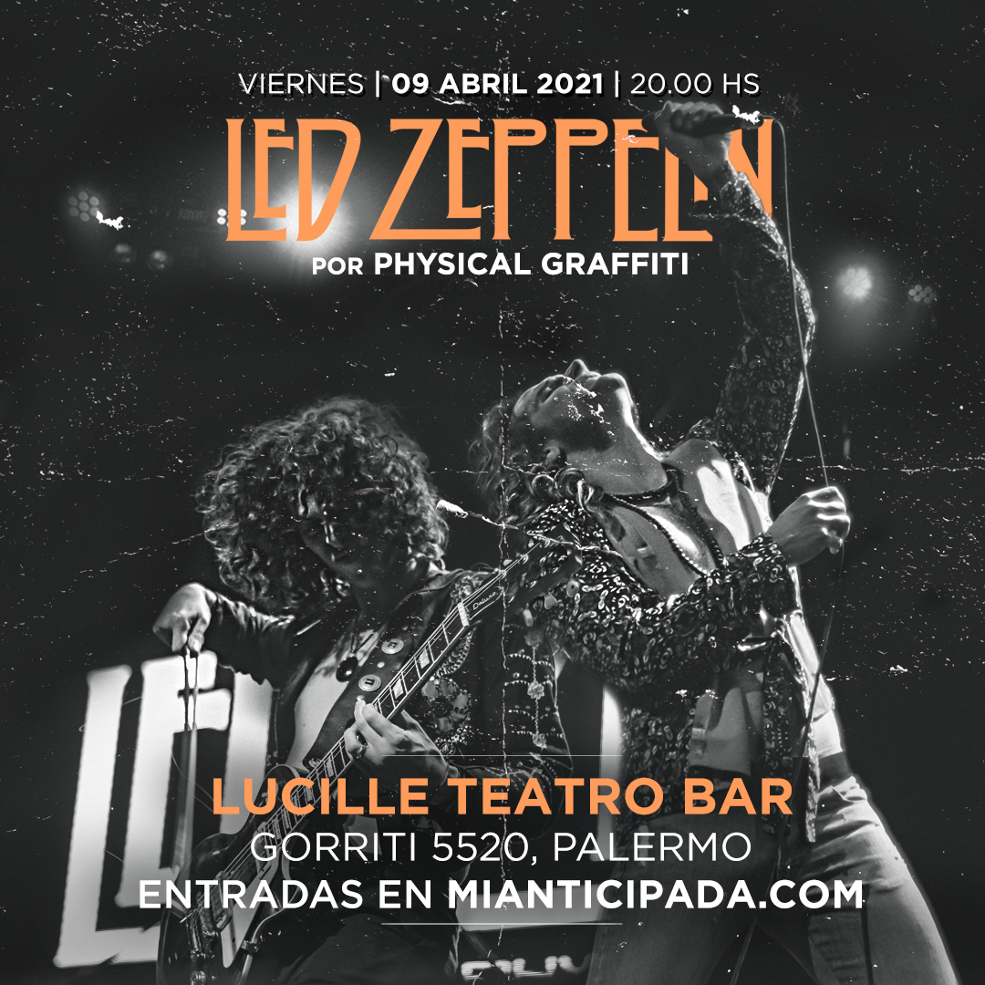 Led Zeppelin por Physical Graffiti en Palermo